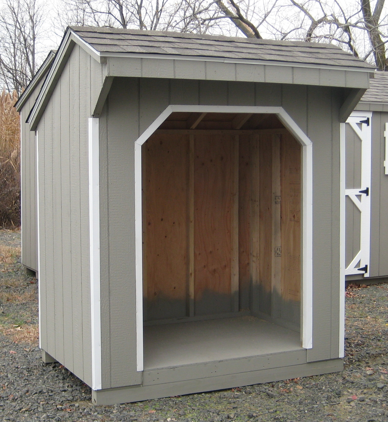 of package norman series storage sheds porch buildings lake treated classic amish
